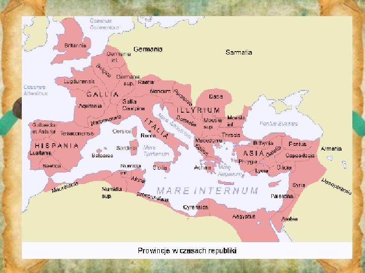 Rozkwit Imperium Rzymskiego. Juliusz Cezar i wprowadzenie cesarstwa - Slajd 9