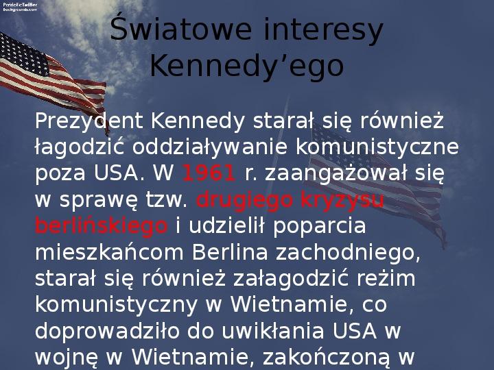 Stany Zjednoczone i kontynent amerykański po II wojnie - Slajd 10