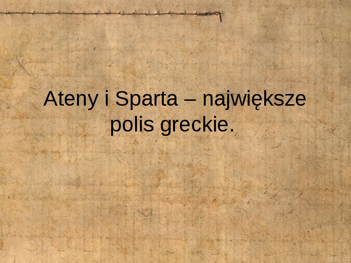 Starożytne Ateny i Sparta - Slajd 1