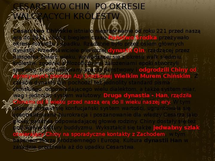 Starożytne cywilizacje Indii i Chin - Slajd 9