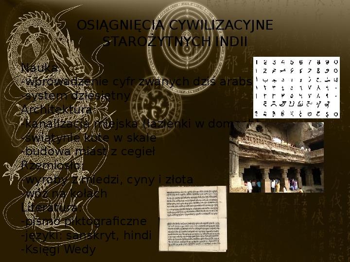 Starożytne cywilizacje Indii i Chin - Slajd 24