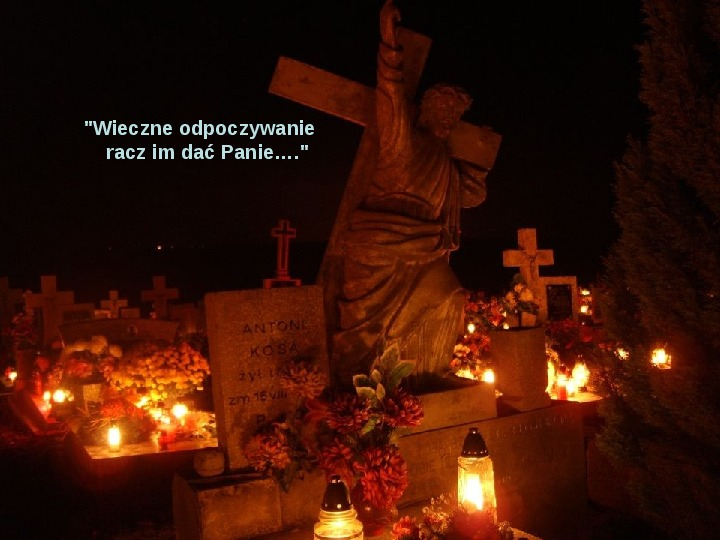 Święto zmarłych - Slajd 16