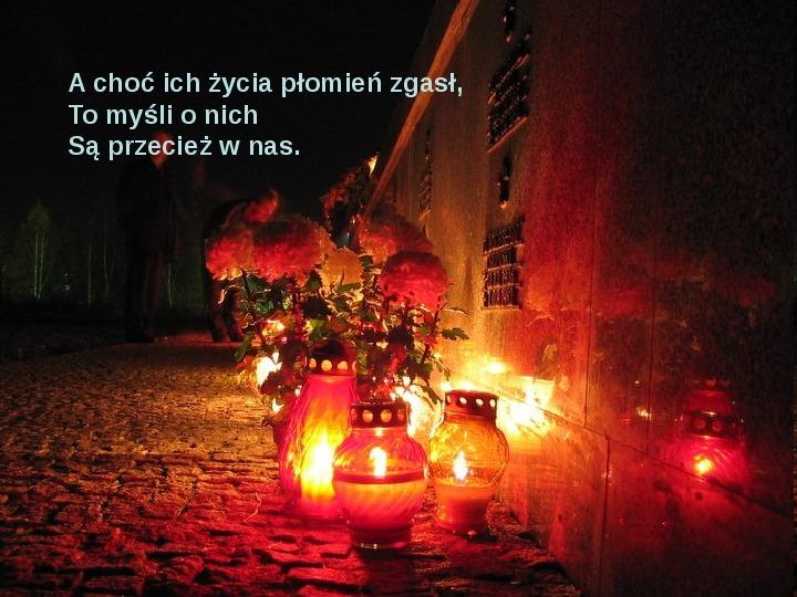Święto zmarłych - Slajd 21