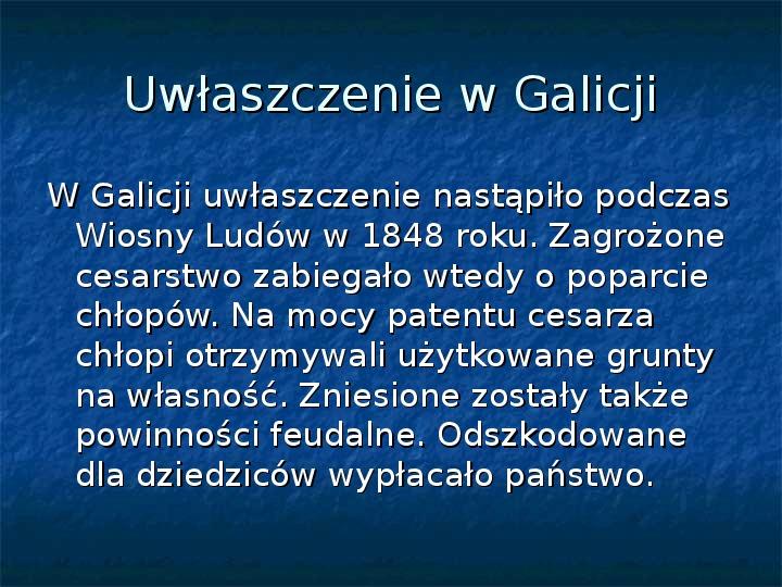 Sytuacja gospodarcza ziem polskich pod zaborami - Slajd 2