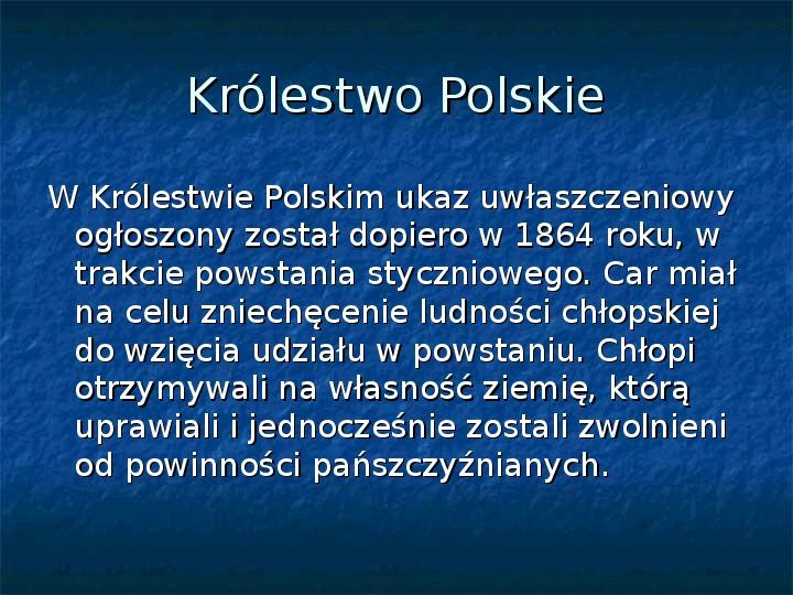 Sytuacja gospodarcza ziem polskich pod zaborami - Slajd 3