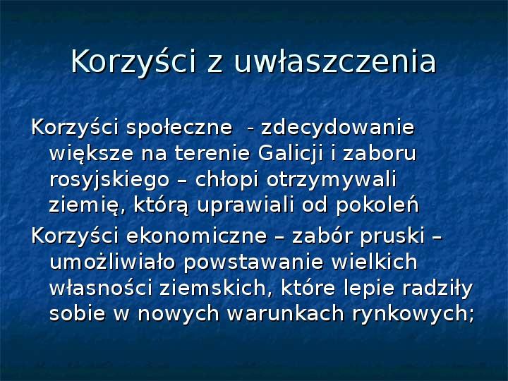Sytuacja gospodarcza ziem polskich pod zaborami - Slajd 5