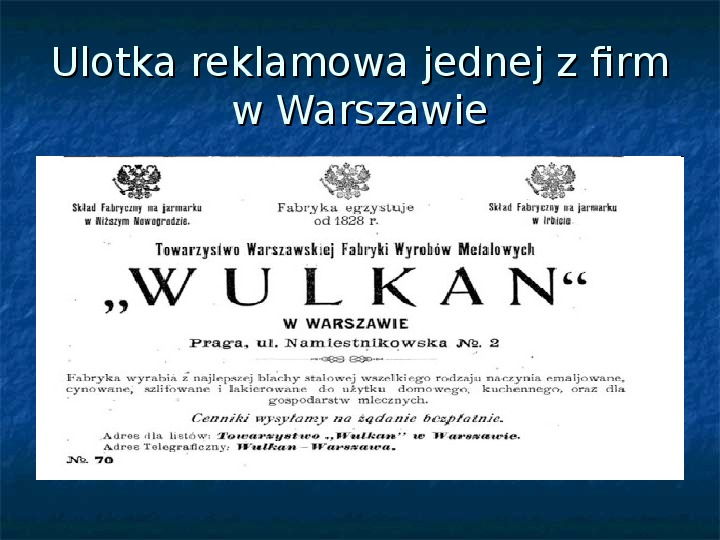 Sytuacja gospodarcza ziem polskich pod zaborami - Slajd 12