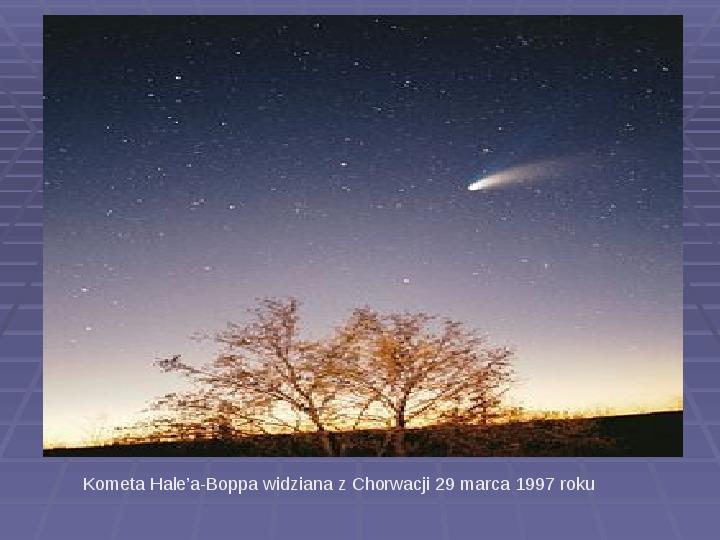 Tajemnica komet - Slajd 4