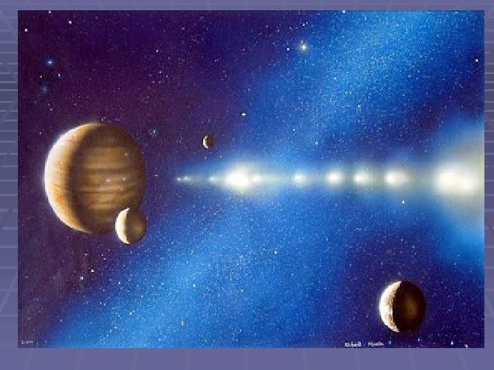 Tajemnica komet - Slajd 8