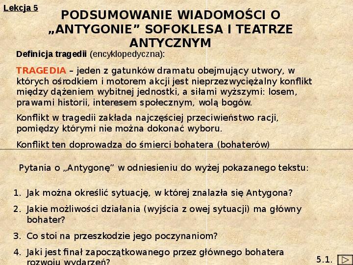 Teatr i Antygona - Slajd 27