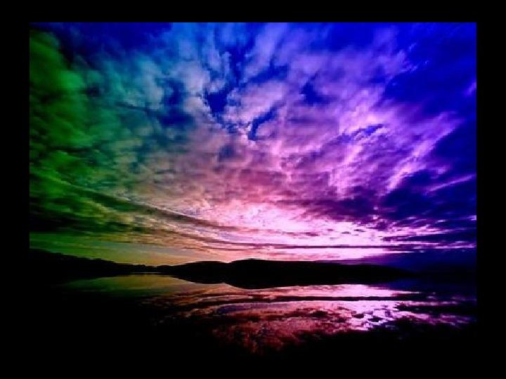Tęcza - barwy podstawowe i pochodne - Slajd 16