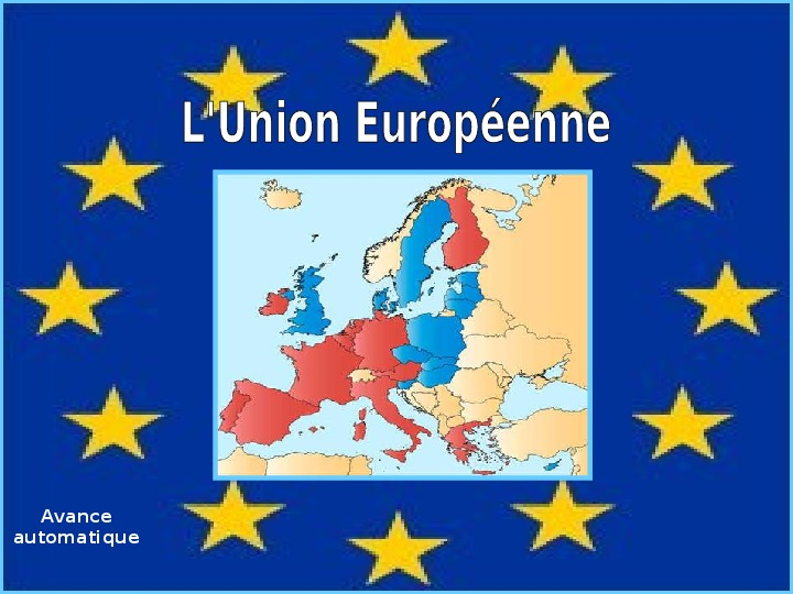 Unia Europejska - Slajd 1