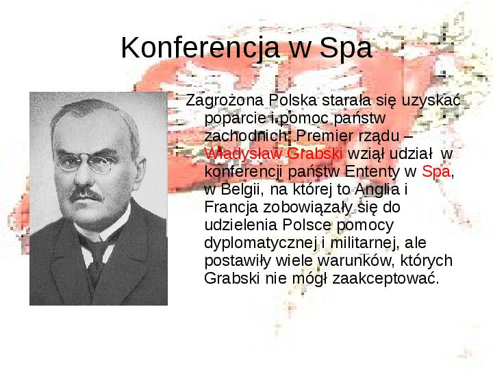 Walka o granice II RP w latach 1919-21 - Slajd 8