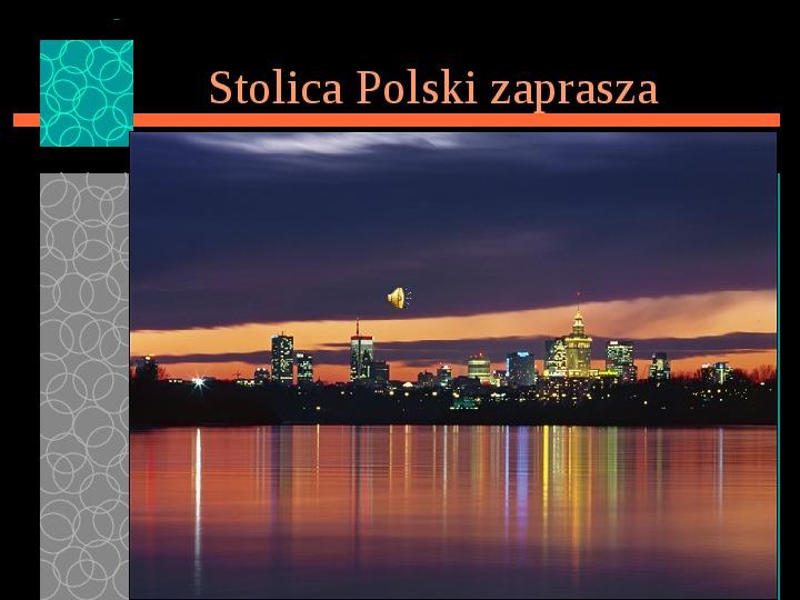 Warszawa zaprasza - Slajd 1