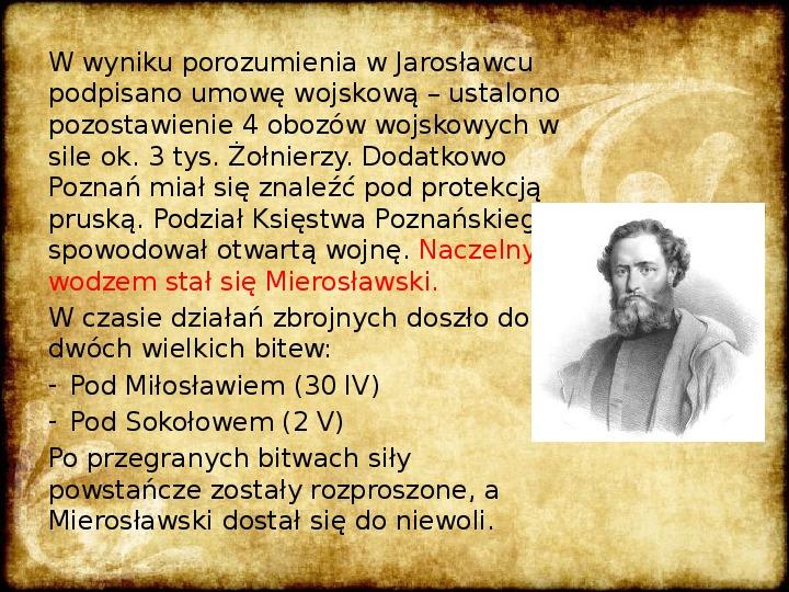 Wiosna Ludów na ziemiach polskich - Slajd 3