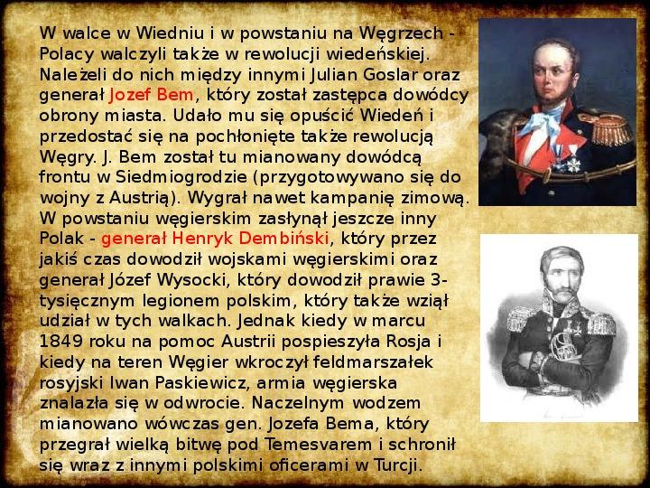 Wiosna Ludów na ziemiach polskich - Slajd 10