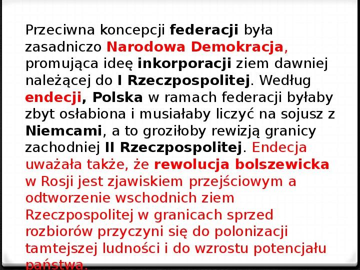 Wojna polsko - bolszewicka - Slajd 3