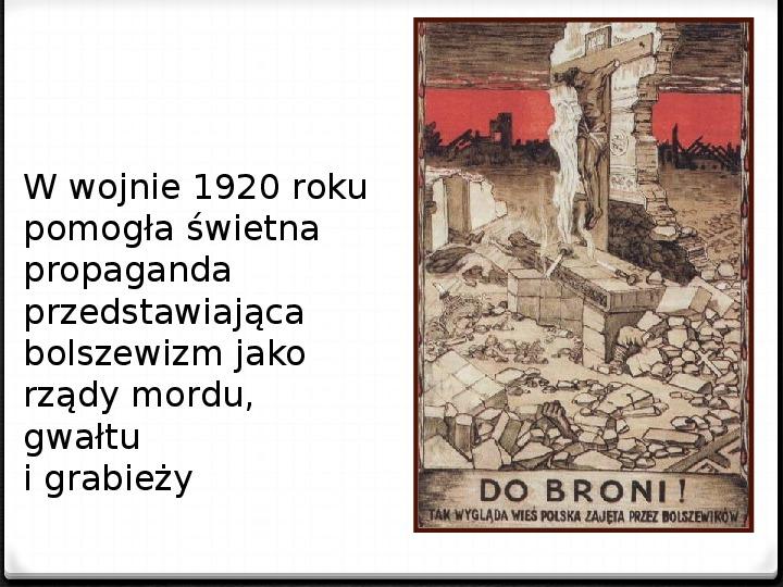 Wojna polsko - bolszewicka - Slajd 6
