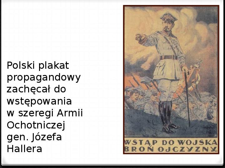 Wojna polsko - bolszewicka - Slajd 8