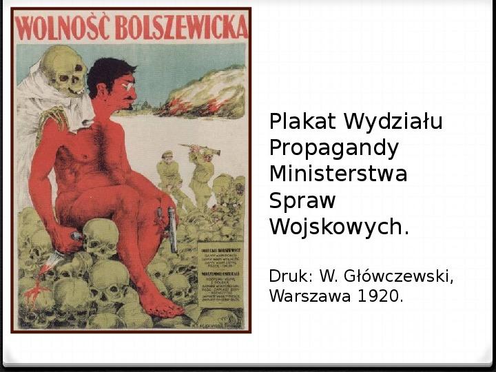 Wojna polsko - bolszewicka - Slajd 9