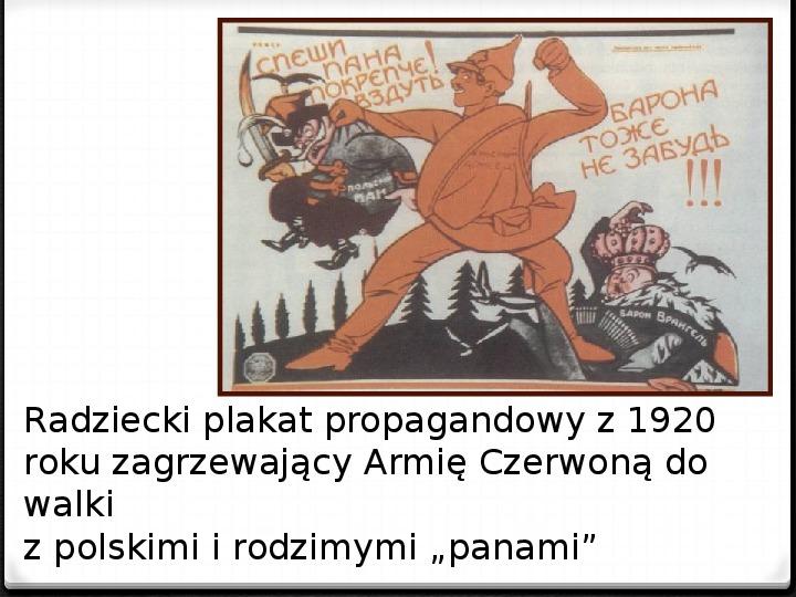 Wojna polsko - bolszewicka - Slajd 10