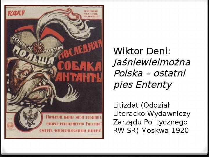 Wojna polsko - bolszewicka - Slajd 11