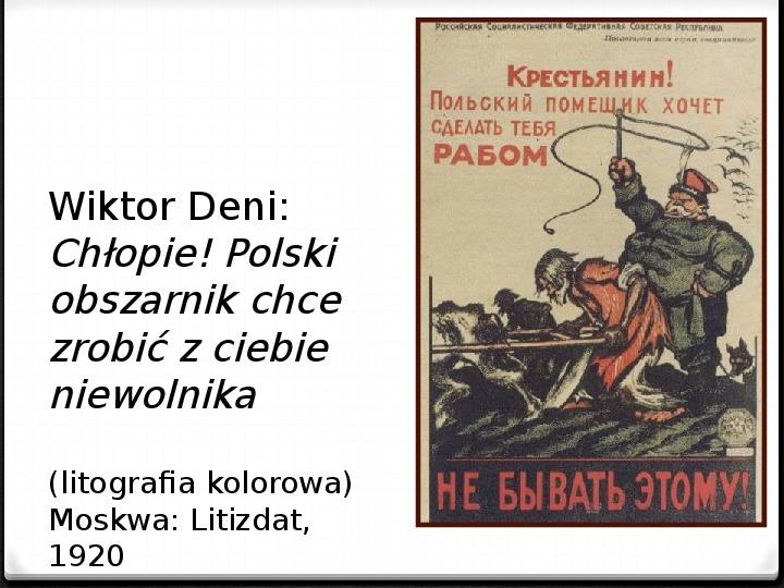 Wojna polsko - bolszewicka - Slajd 13