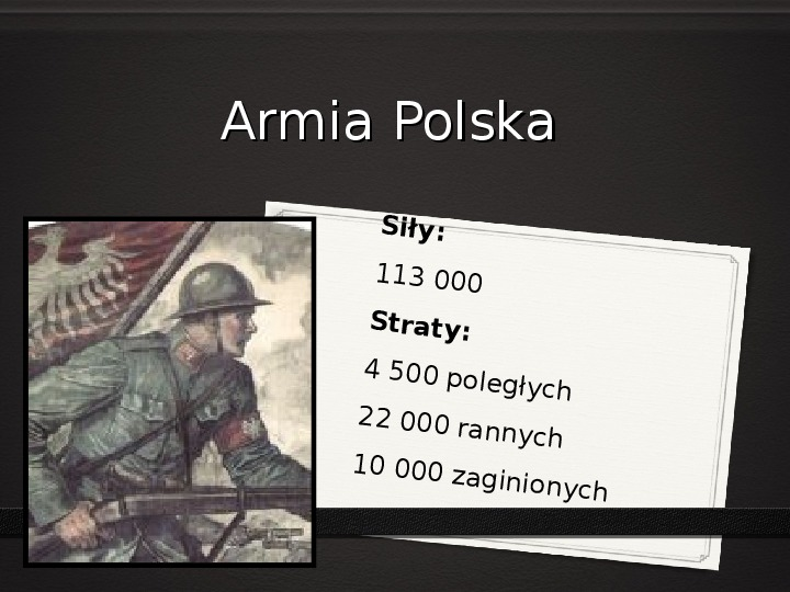 Wojna polsko - bolszewicka - Slajd 14