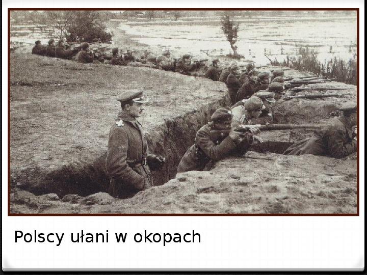Wojna polsko - bolszewicka - Slajd 20