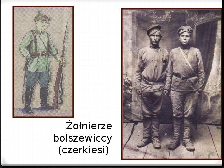 Wojna polsko - bolszewicka - Slajd 26