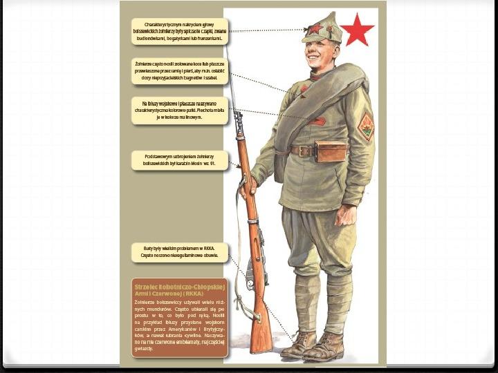 Wojna polsko - bolszewicka - Slajd 27