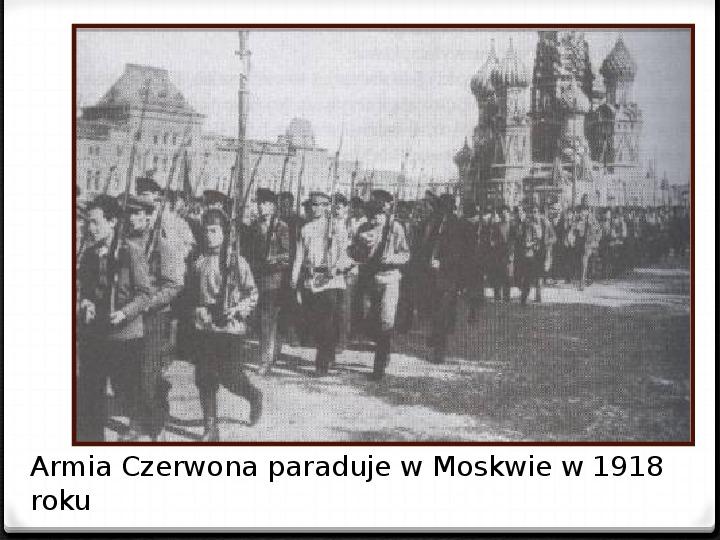 Wojna polsko - bolszewicka - Slajd 28