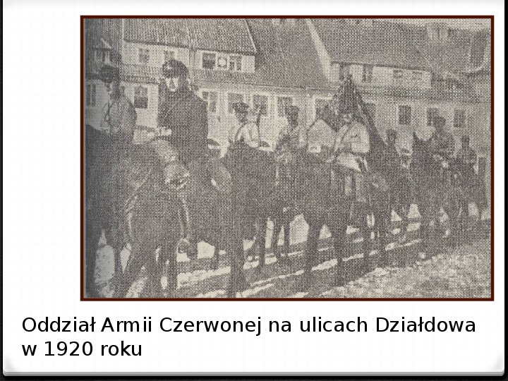 Wojna polsko - bolszewicka - Slajd 29