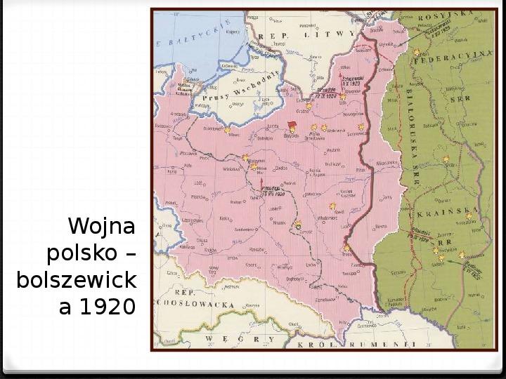Wojna polsko - bolszewicka - Slajd 32