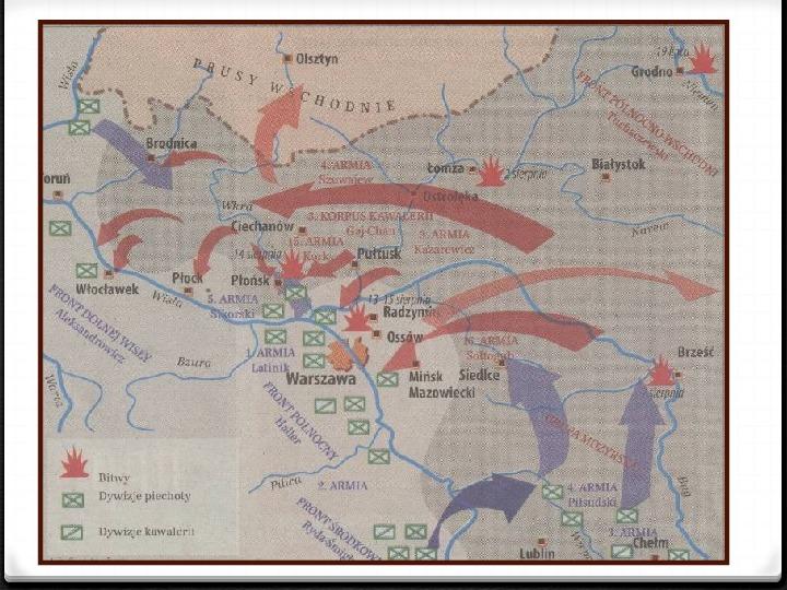 Wojna polsko - bolszewicka - Slajd 33