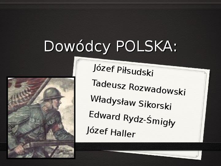 Wojna polsko - bolszewicka - Slajd 34