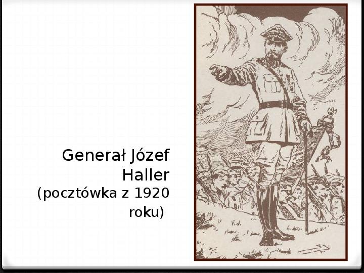 Wojna polsko - bolszewicka - Slajd 37