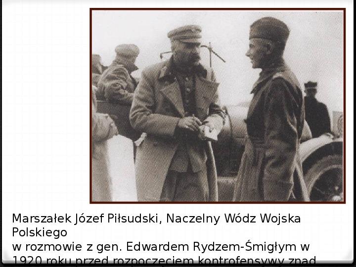 Wojna polsko - bolszewicka - Slajd 39