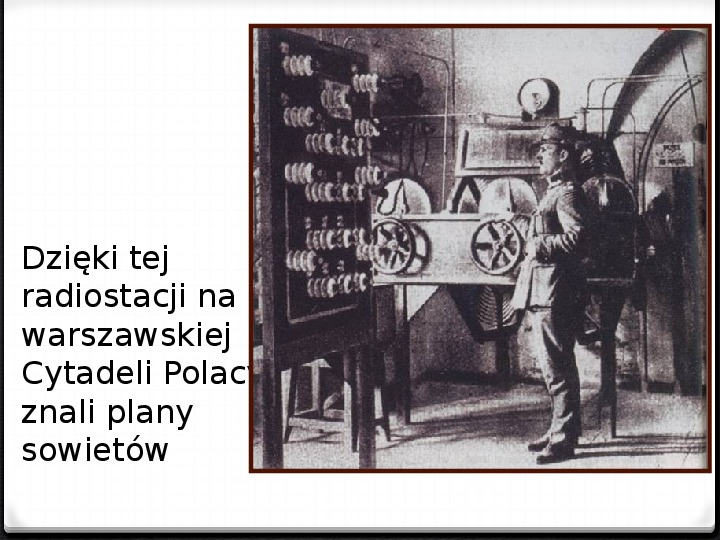 Wojna polsko - bolszewicka - Slajd 40