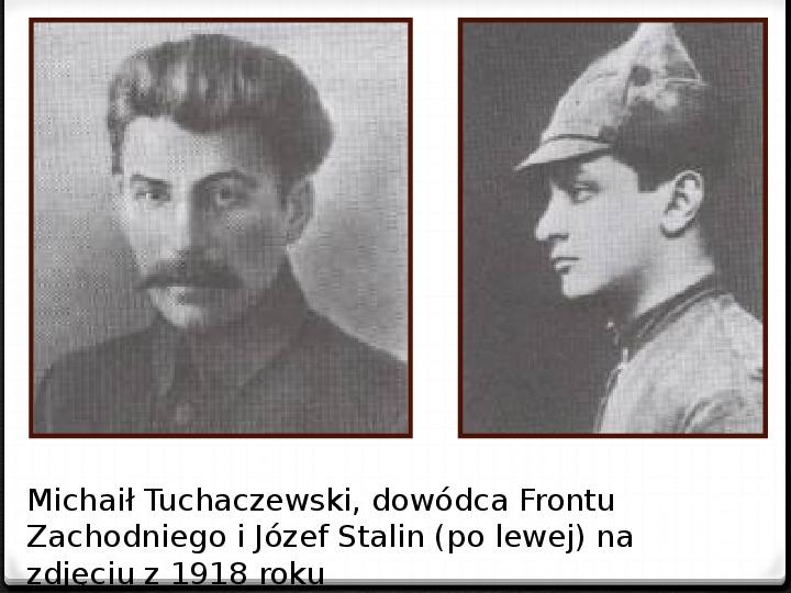 Wojna polsko - bolszewicka - Slajd 43