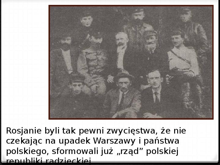 Wojna polsko - bolszewicka - Slajd 44