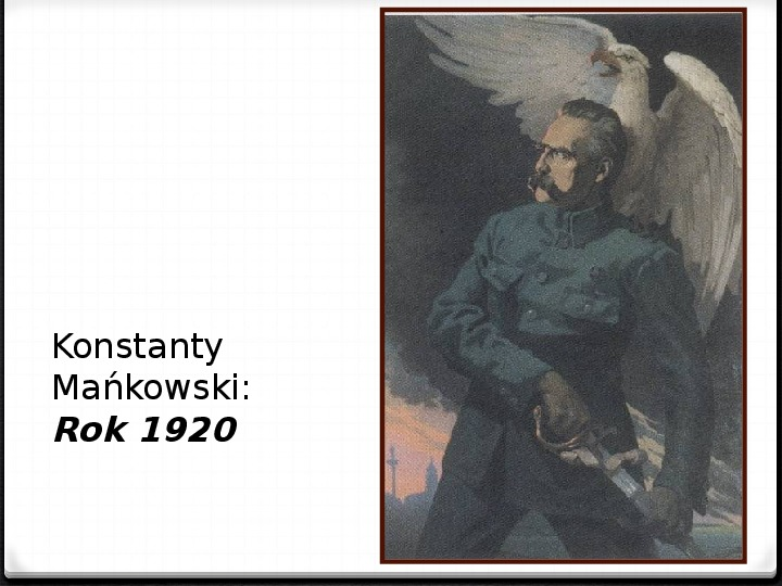Wojna polsko - bolszewicka - Slajd 48