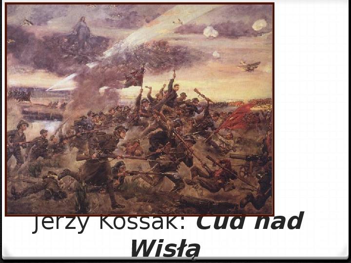 Wojna polsko - bolszewicka - Slajd 49