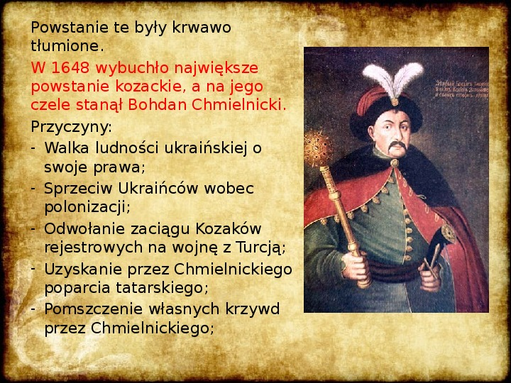 Wojny Rzeczpospolitej w 2 poł. XVII wieku - Slajd 6
