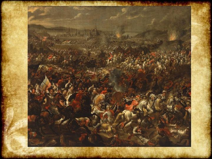 Wojny Rzeczpospolitej w 2 poł. XVII wieku - Slajd 25