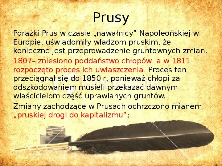 Zaborcy Polski w 1 poł. XIX wieku - Slajd 1