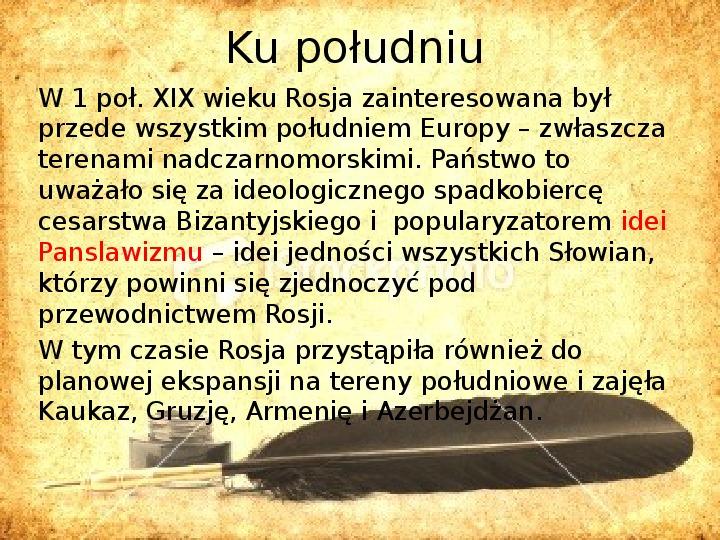 Zaborcy Polski w 1 poł. XIX wieku - Slajd 7