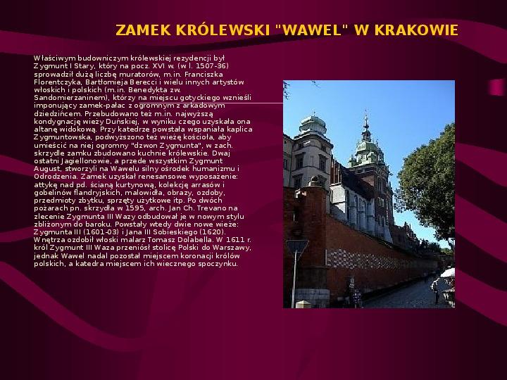 Zamki Jury Krakowsko Częstochowskiej - Slajd 6