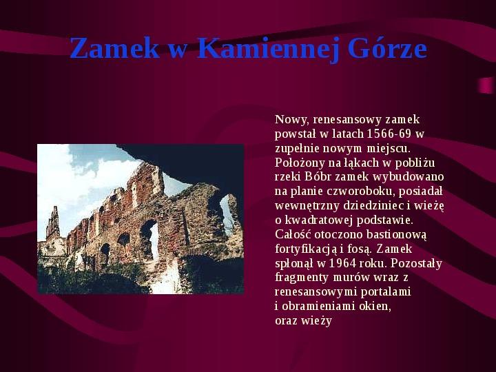 Zamki Jury Krakowsko Częstochowskiej - Slajd 9