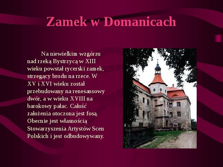 Zamki Jury Krakowsko Częstochowskiej - Slajd 10